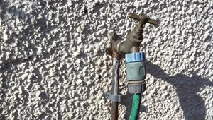 Outdoor tap installation
