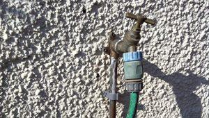 Outdoor tap installation